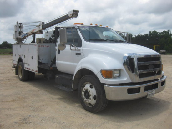 2009 FORD F650 MECHANICS TRUCK