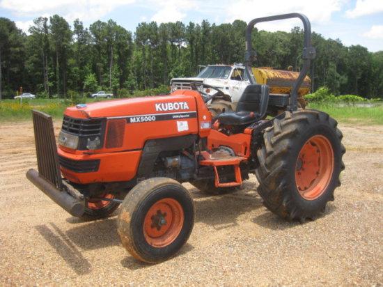 KUBOTA MX5000 TRACTOR SN 11305
