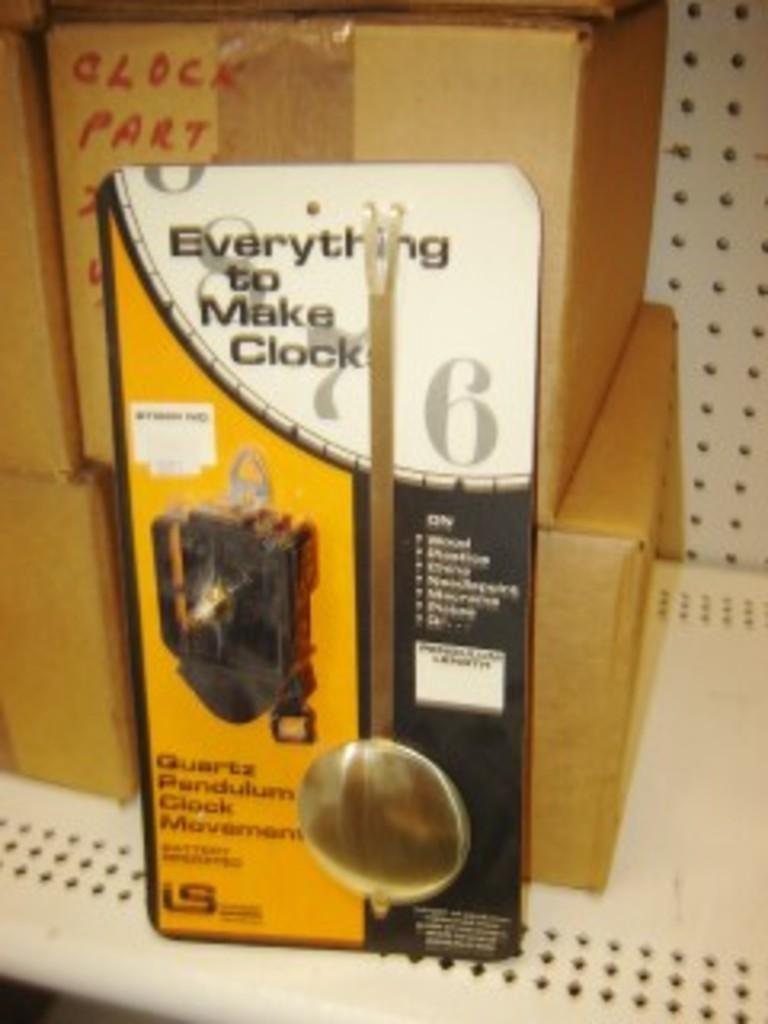 Craft Store Inventory 1