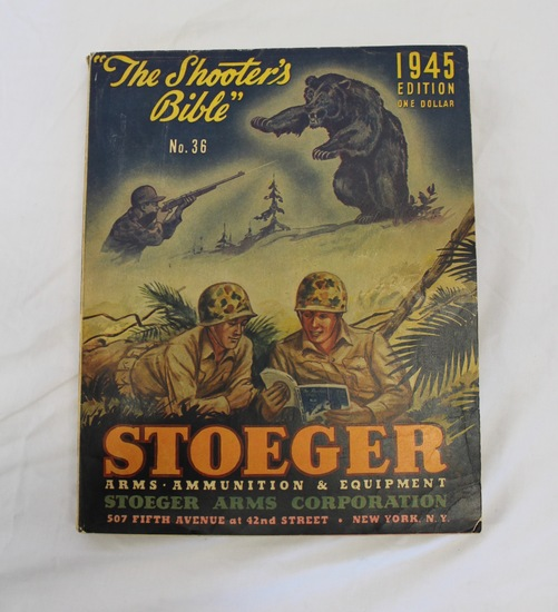 Stoeger The Shooters Bible No. 36 - 1945 Edition