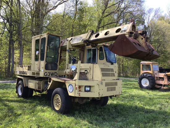 Tractors, Heavy Equipment and Truck Auction
