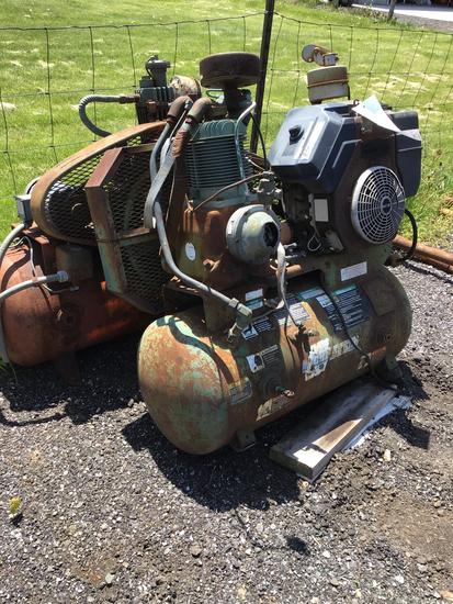 2 old air compressor