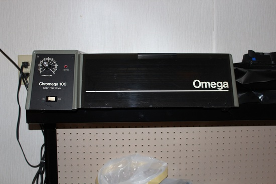 Omega Chromega 100 color print dryer