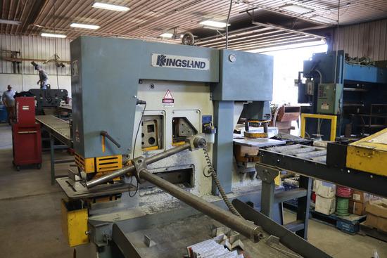 Kingsland 70-ton Hydraulic Iron Worker
