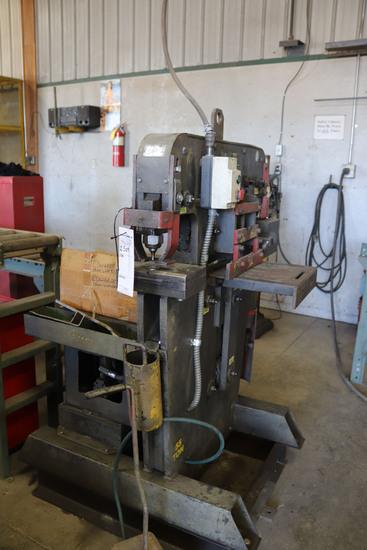 Edwards 55-ton Hydraulic Iron Worker