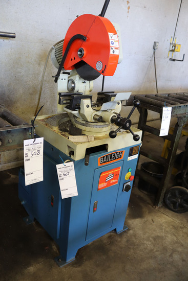 2018 Baileigh Mitering Cold Saw