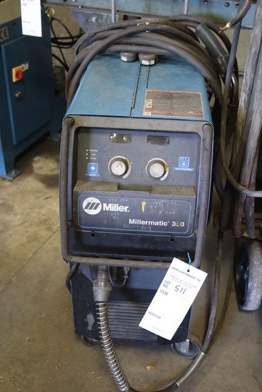 Millermatic 350 Wire Welder