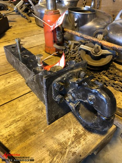 HEAVY DUTY PINTLE HITCH