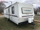 1999 CHATEUU TANDEM AXLE TRAVEL TRAILER, 1-SLIDE OUT, 32' BUNKHOUSE, PULL TYPE, 2-5/16'' HITCH, AWNI