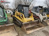 ASV RC100 RUBBER TRACK SKID STEER, POSI TRACK, AUX HYDRAULICS, 72'' BUCKET, CAB WITH HEAT, FORESTRY