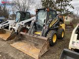 NEW HOLLAND L225 RUBBER TIRE SKID STEER, 2013, CAB WITH HEAT, AUX. HYDRAULICS HI-FLOW, 2-SPEED, 12-1