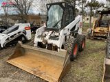 BOBCAT 863G RUBBER TIRE SKID STEER, 2003, CAB WITH HEAT/AC, HIGH FLOW HYDRAULICS, DUAL CONTROLS, 73-