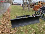 CONSTRUCTION ATTACHMENTS, HYDRAULIC SNOW PLOW BLADE 72'', SKID STEER MOUNT