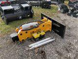 NEW WOLVERINE HYDRAULIC CONCRETE BREAKER, MODEL 750, SKID STEER MOUNT