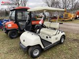 YAMAHA G22 ELECTRIC GOLF CART WITH CHARGERS, CANOPY