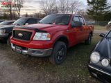 2005 FORD F150 EXTENDED CAB PICKUP, 5.4L GAS ENGINE, AUTO TRANS, 4X4, CLOTH PW, PL, PM, AM/FM-CD, WH