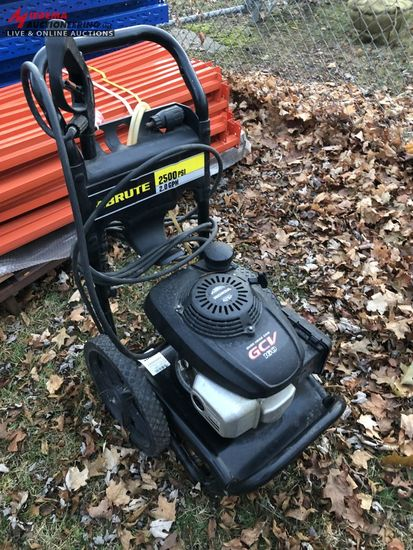 BRUTE 2500 PSI PRESSURE WASHER, HONDA GAS ENGINE, WITH HOSE AND WAND