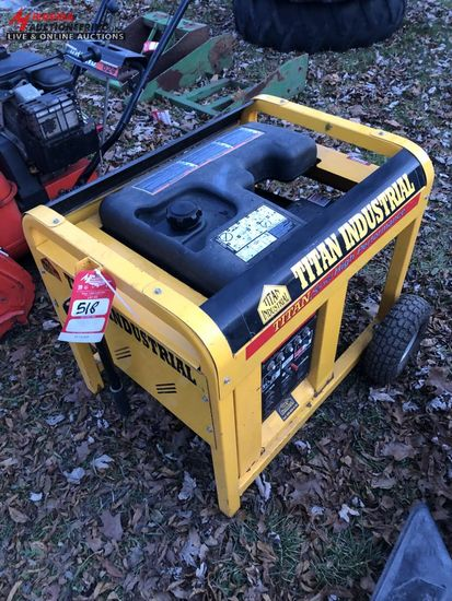 TITAN 550 GENERATOR, GAS POWERED