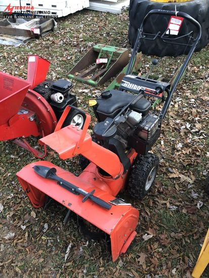 ARIENS 624 WALK BEHIND SNOW BLOWER, 24''