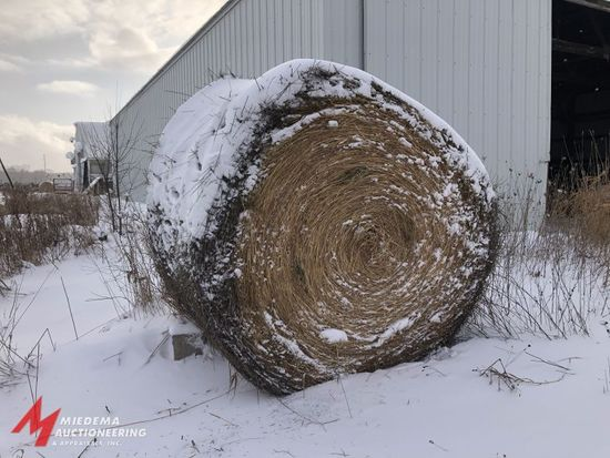 ROUND BALES, APPROX 125 TOTAL. LOCATED A FEW MILES FROM FARM