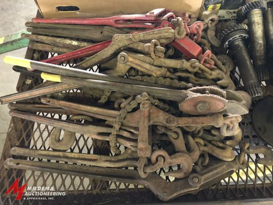 APPROX. (20) ASSORTED BINDING TOOLS.