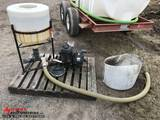 CHEMICAL INDUCTOR WITH PUMP, BRIGGS & STRATTON ENGINE