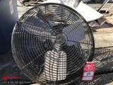 HEAVY DUTY FAN, EMERSON 1/3HP MOTOR, 1700 RPM, 115/230 VOLT