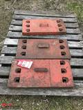 CASE TRACTOR WEIGHTS [3]