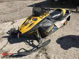 2007 SKIDOO MXZ ROTAX 550F SNOWMOBILE, STUDDED TRACK, 8644 MILES SHOWING, VIN: 2VPSBP8A58V000190
