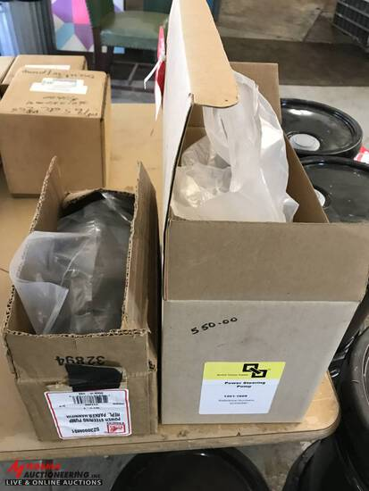 NEW POWER STEERING PUMPS [2], FITS MF 65, 165, 255. 523090M91