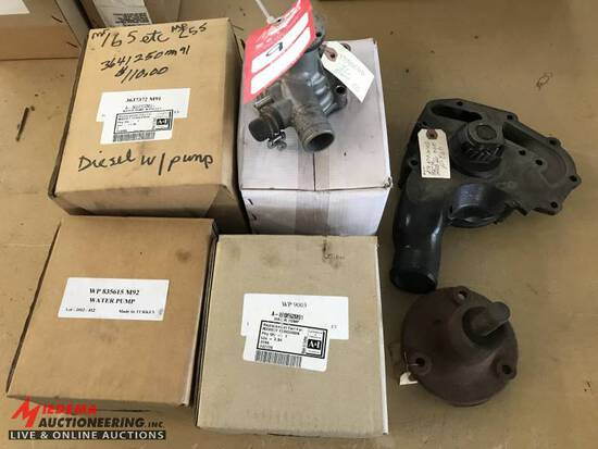 ASSORTED WATER PUMPS