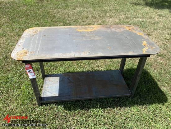 WELDING TABLE, 30'' X 57'', 5/16'' WELDING SURFACE