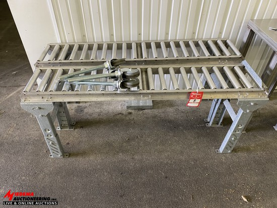 ROLLER CONVEYORS [2] & STANDS [3]