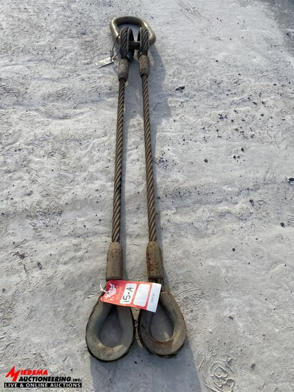 HEAVY DUTY TOW CABLE, 56'', 34,000 LBS RATING