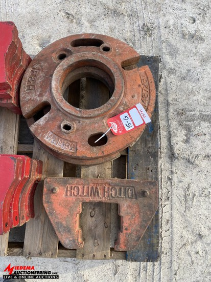 F&H AND DITCH WITCH WEIGHTS