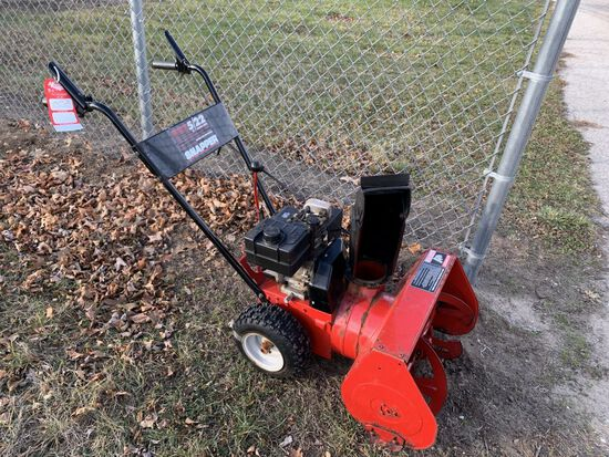 SNAPPER 5/22 2-STAGE SNOWBLOWER