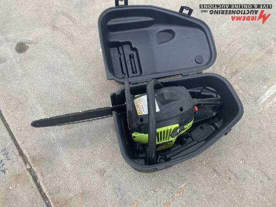 POULAN P3314 CHAINSAW WITH CASE