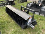 NEW WOLVERINE ANGLE BROOM ATTACHMENT, 72'', SKIDSTEER MOUNT