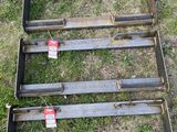 QUICK ATTACH PLATE, FOR SKIDSTEER MOUNT