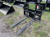 FORK ATTACHMENT, 48'', 2550LBS CAPACITY PER FORK