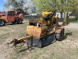 RAYCO RG1665 STUMP GRINDER, DIESEL ENGINE, TRAILER MOUNTED, NEW ENGINE, 24'' BAR