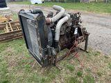 INTERNATIONAL DIESEL ENGINE, DT 408, WAS IN RUNNING CONDITION WHEN REMOVED, 230-HP