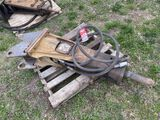 INDECO MES 621 HAMMER ATTACHMENT, WORKING CONDITION UNKNOWN