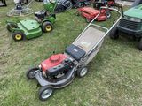 HONDA COMMERCIAL SELF PROPELLED MOWER WITH BAGGER