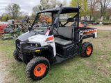 2017 BOBCAT 3400 UTILITY VEHICLE, 4WD, EFI GAS ENGINE, 1524 HOURS SHOWING, S/N: 4XAB3FLA1H8017420, S