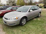 2008 CHEVROLET IMPALA LS, 4-DOOR, 3.5L V6 GAS, AUTO TRANS, CLOTH, PW, PL, PM, AM/FM-CD, ASSORTED RUS