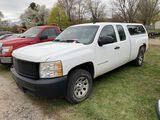 2008 CHEVY SILVERADO 1500 EXTENDED CAB PICKUP, 4.8L GAS ENGINE, AUTO TRANS, PW, PL, PM, AM/FM-CD, CL