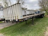 1995 FONTAINE TANDEM AXLE FLATBED, 48', GVWR 71,507, VIN: 13N14830XS1565089
