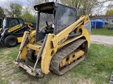 GEHL RT210 RUBBER TRACK SKID STEER, YEAR 2012, 2-SPEED,  TURBO, AUX. HYDRAULIC, NO BUCKET, NO FRONT