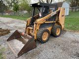 CASE XT40 RUBBER TIRE SKIDSTEER, 10-16.5 TIRES, 62'' BUCKET, S/N: JAF39925